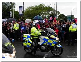 csinálták a fesztivált a rendőrök, nagyon ott voltak , füttyögtek, hergelték a népet (jó értelemben) :) királylányos érzés volt :)