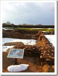 Letocetum Roman site - egy kis római nyomkupac